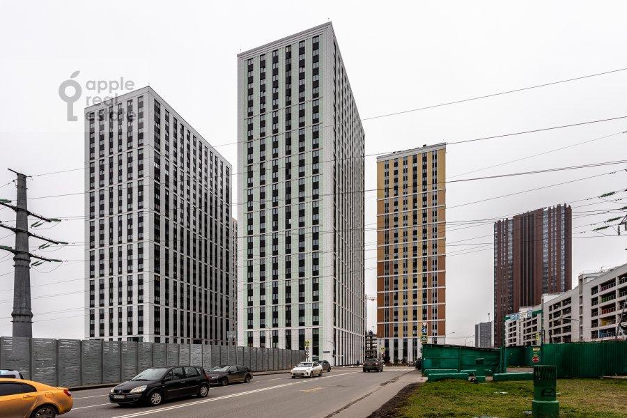 Photo of the house of the 2-room apartment at Kronshtadtskiy bul'var 6k1