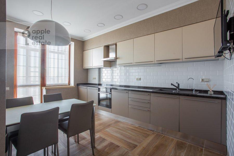 Kitchen of the 3-room apartment at Bol'shoy Tishinskiy pereulok 10s1
