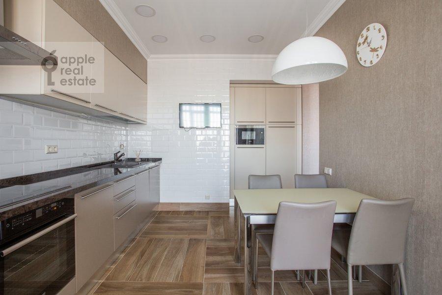 Кухня в 3-комнатной квартире по адресу Большой Тишинский переулок 10с1