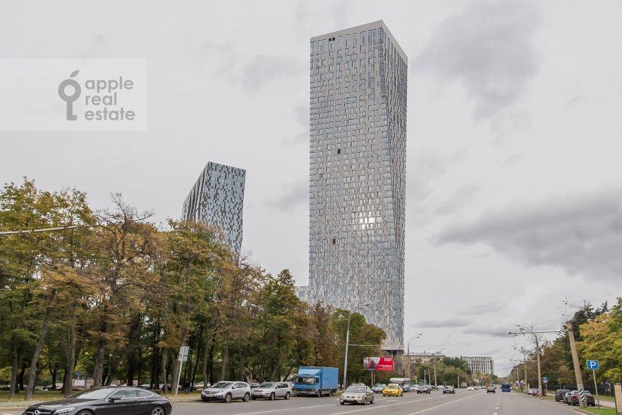Photo of the house of the 5-room apartment at Mosfil'movskaya ulitsa 8