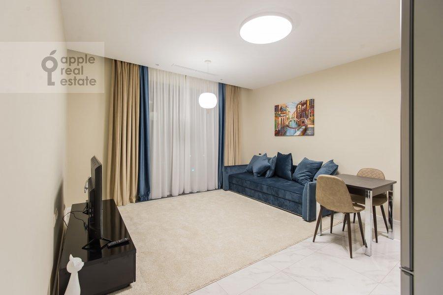 Гостиная в 2-комнатной квартире по адресу Большая Садовая ул. 5к1