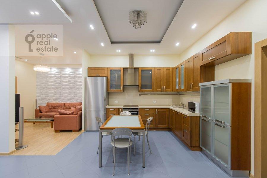 Kitchen of the 3-room apartment at Aviamotornaya ulitsa 12