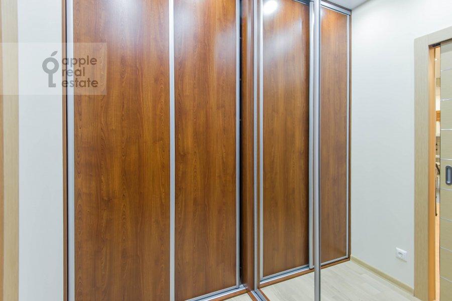 Walk-in closet / Laundry room / Storage room of the 3-room apartment at Aviamotornaya ulitsa 12
