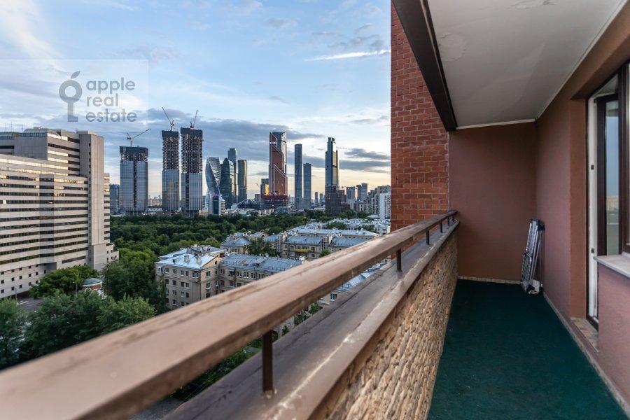 Balcony / Terrace / Loggia of the 1-room apartment at Studenetskiy pereulok 3