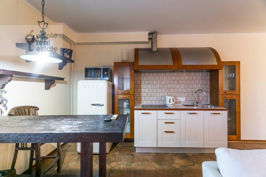 Kitchen of the 1-room apartment at Studenetskiy pereulok 3