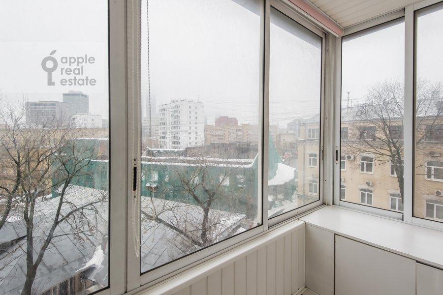 Балкон / Терраса / Лоджия в 3-комнатной квартире по адресу Трехгорный Вал 12к2