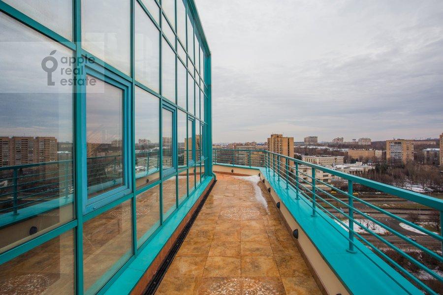Balcony / Terrace / Loggia of the 5-room apartment at Minskaya ul. 1gk1