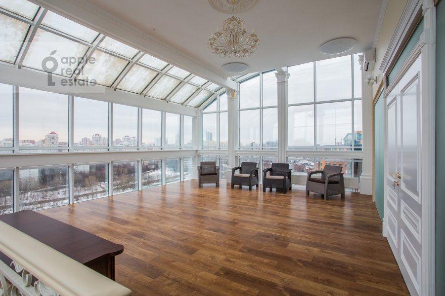 Living room of the 5-room apartment at Minskaya ul. 1gk1