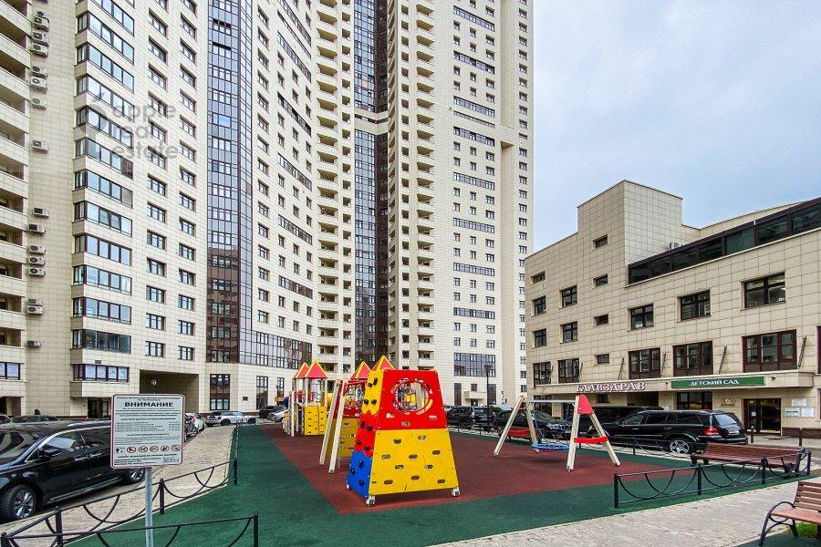 Photo of the house of the 2-room apartment at prospekt Marshala Zhukova 78