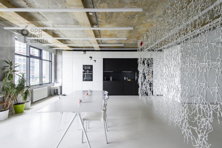Living room of the 3-room apartment at prospekt Mira 188Bk4