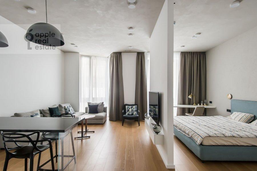 Гостиная в 1-комнатной квартире по адресу Садовническая набережная 7