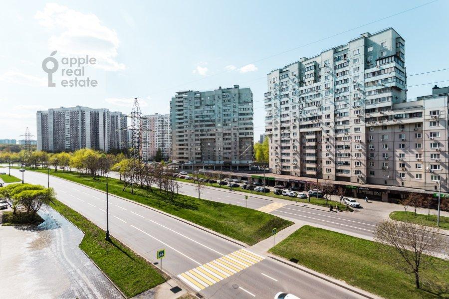 View from the window of the 3-room apartment at Arkhitektora Vlasova ul. 18