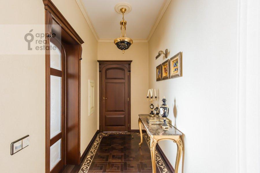 Corridor of the 3-room apartment at Novatorov ul. 8 korp2
