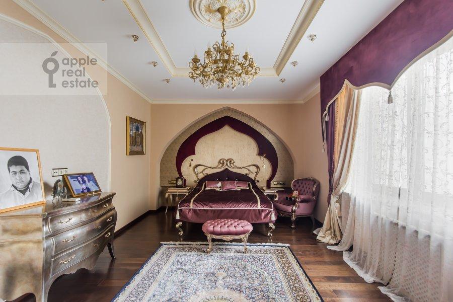 Bedroom of the 3-room apartment at Novatorov ul. 8 korp2