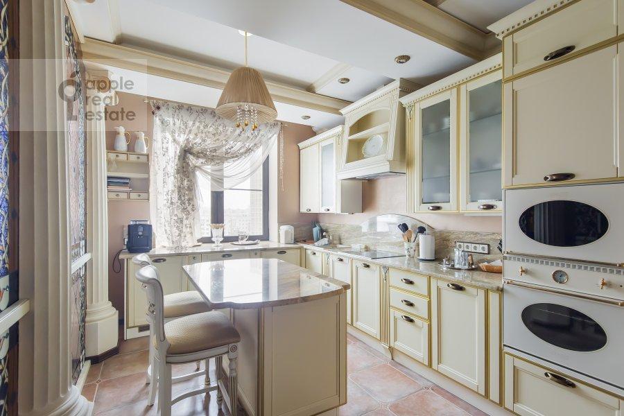 Kitchen of the 3-room apartment at Novatorov ul. 8 korp2