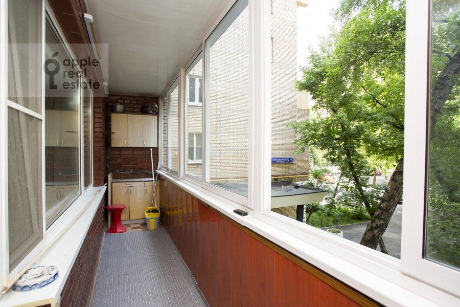 Balcony / Terrace / Loggia of the 4-room apartment at Tarasa Shevchenko nab. 3k3