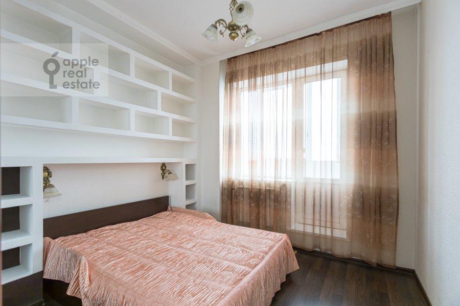 Спальня в 2-комнатной квартире по адресу Веерная улица 2