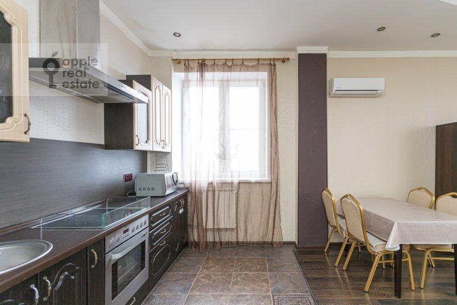 Гостиная в 2-комнатной квартире по адресу Веерная улица 2