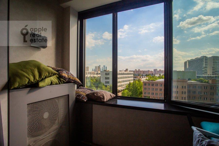 Balcony / Terrace / Loggia of the 4-room apartment at Leningradskiy prospekt 35S2