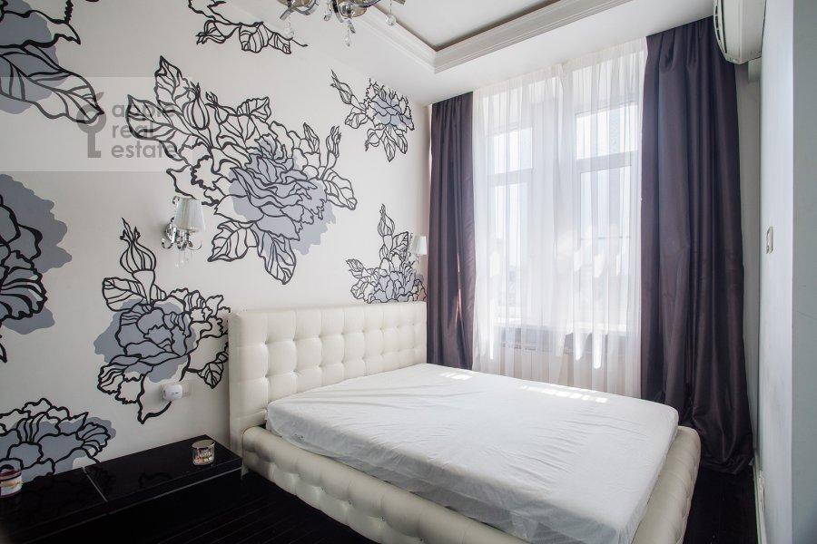 Bedroom of the 2-room apartment at Prosvirin pereulok 15