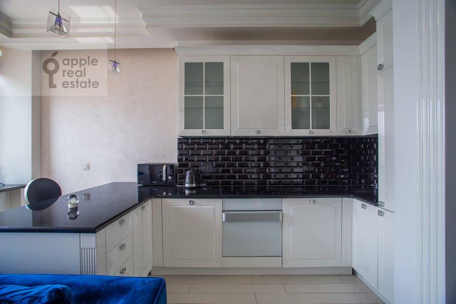 Kitchen of the 2-room apartment at Prosvirin pereulok 15