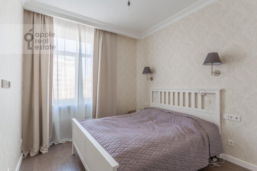 Спальня в 3-комнатной квартире по адресу 2-й Неопалимовский пер. 11