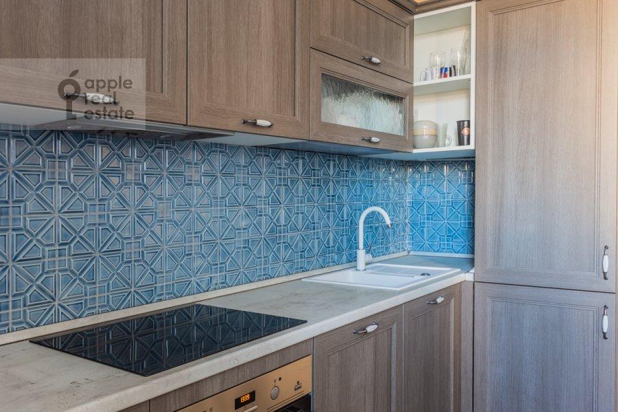Кухня в 3-комнатной квартире по адресу 2-й Неопалимовский пер. 11