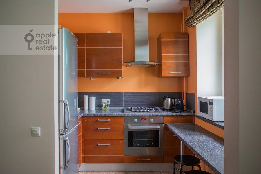 Kitchen of the 2-room apartment at Staropimenovskiy pereulok 4S1