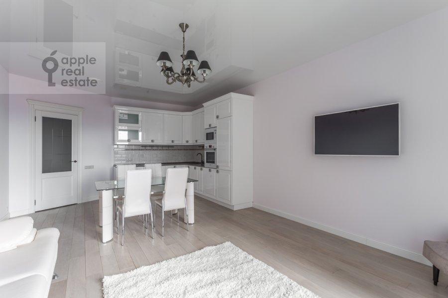 Living room of the 3-room apartment at Bol'shaya Sadovaya ulitsa 5k1