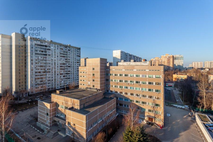Вид из окна в 2-комнатной квартире по адресу Профсоюзная ул. 64к2
