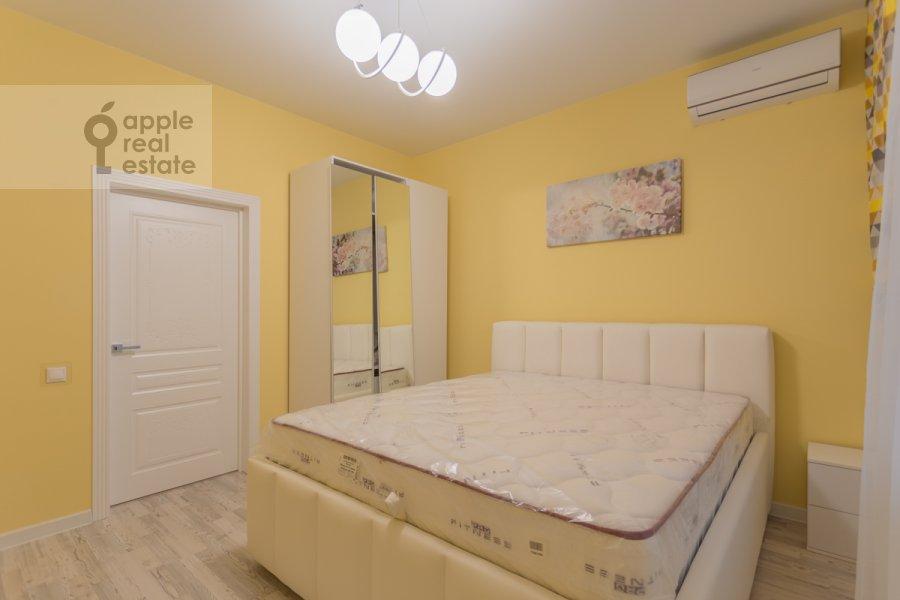 Спальня в 2-комнатной квартире по адресу Кутузовский проспект 30