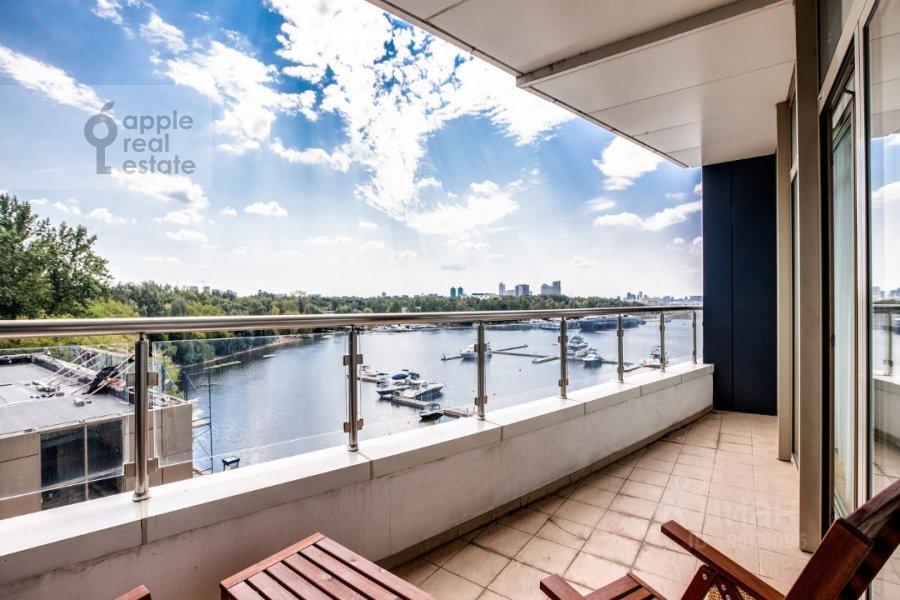 Вид из окна в 3-комнатной квартире по адресу Ленинградское шоссе 37к1