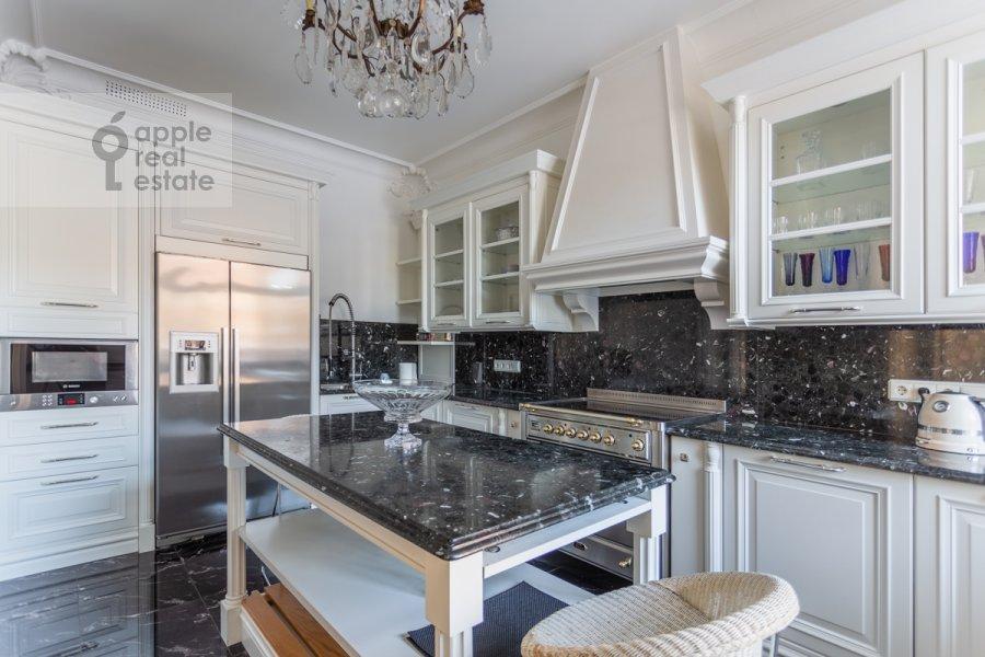 Kitchen of the 4-room apartment at Khilkov per. 1
