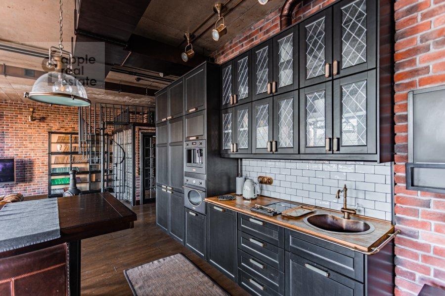 Кухня в 1-комнатной квартире по адресу Большая Грузинская ул. 69