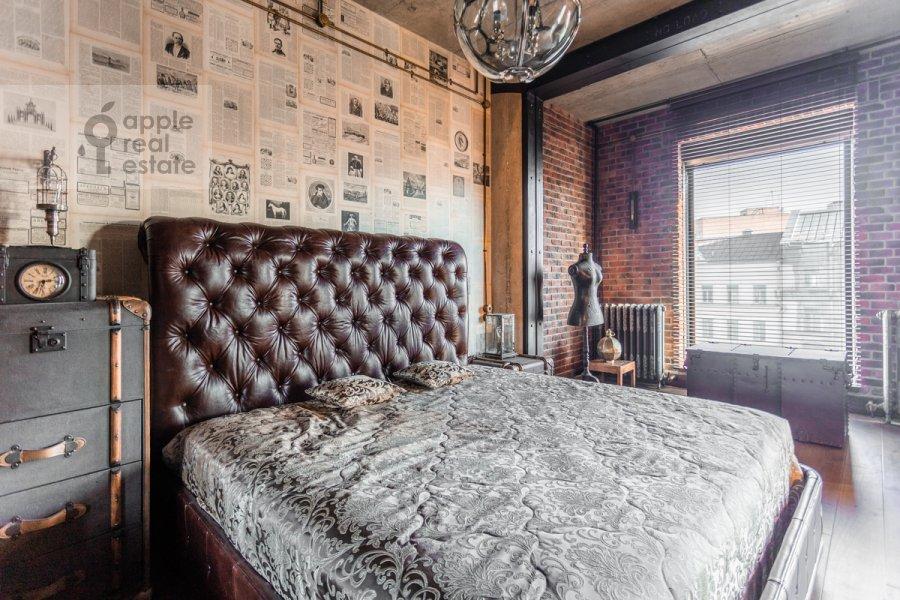 Спальня в 1-комнатной квартире по адресу Большая Грузинская ул. 69