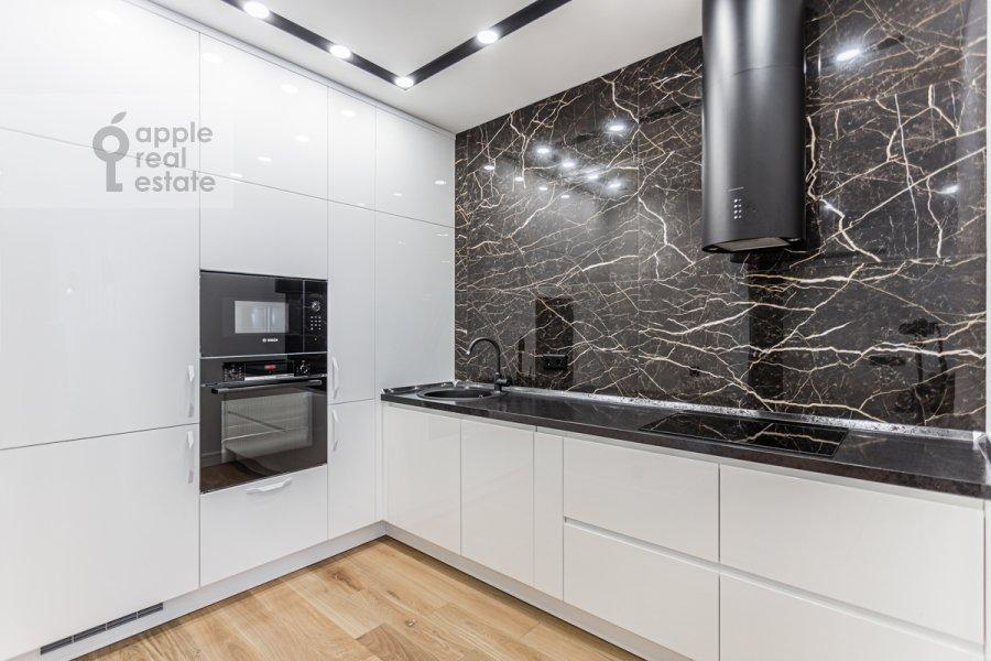 Kitchen of the 3-room apartment at Leninskiy pr-t. 95B