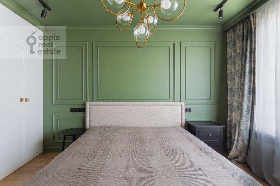 Спальня в 3-комнатной квартире по адресу Ленинский пр-т. 95Б