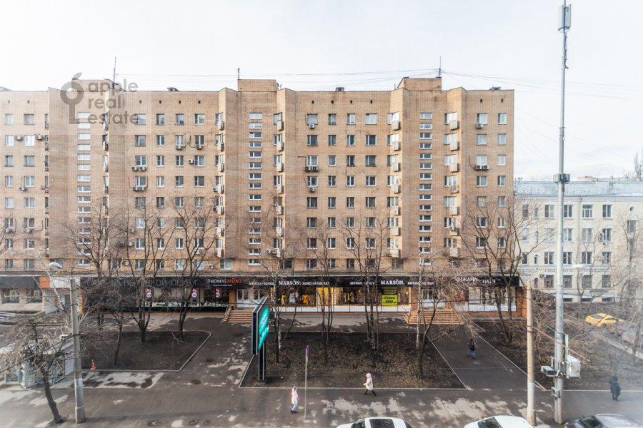 View from the window of the 3-room apartment at Bol'shaya Gruzinskaya ulitsa 69