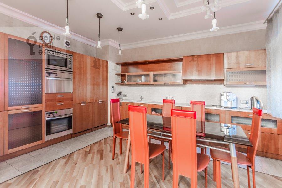 Kitchen of the 2-room apartment at 1-y Smolenskiy pereulok 17