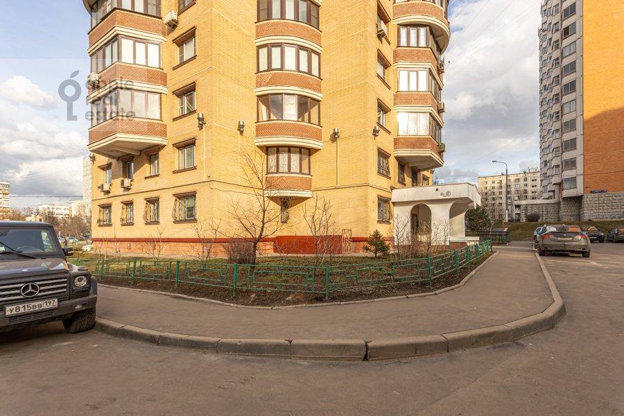Photo of the house of the 2-room apartment at Rossoshanskaya ul. 2k4