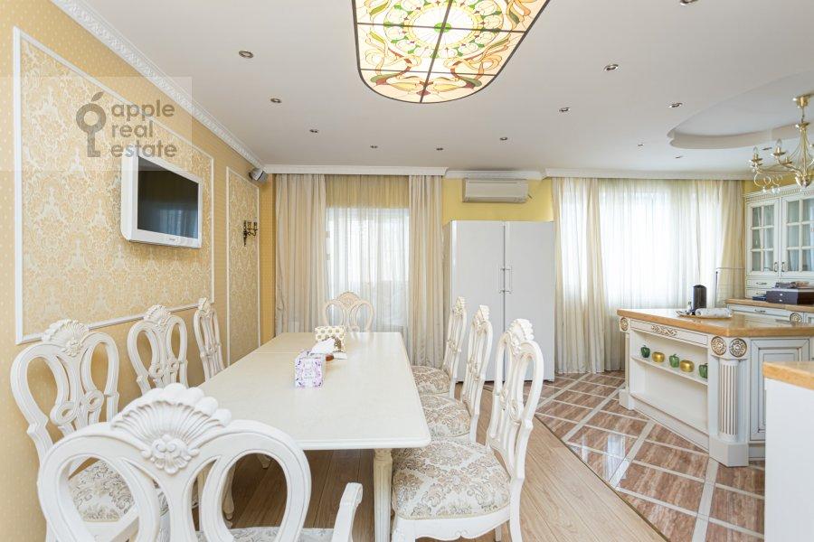 Kitchen of the 2-room apartment at Rossoshanskaya ul. 2k4