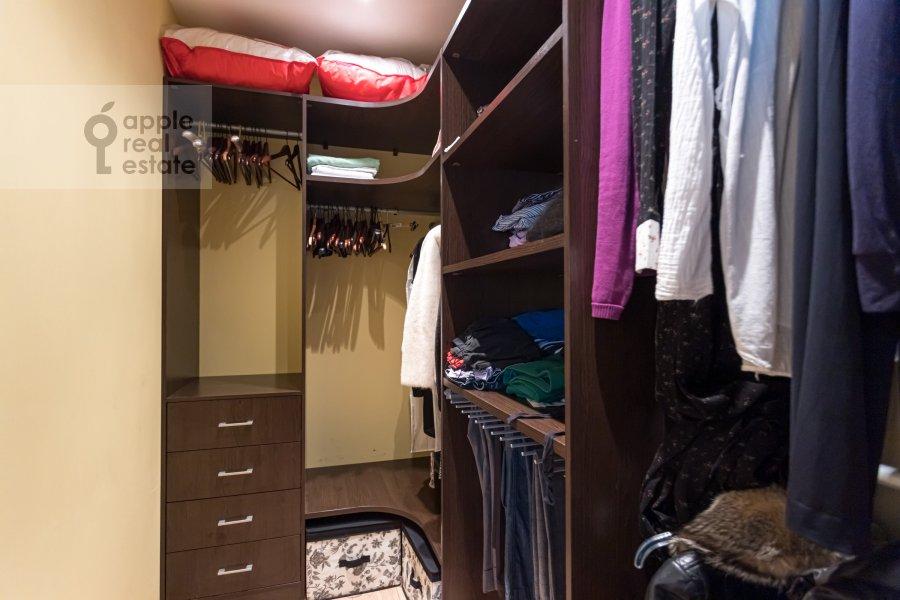 Walk-in closet / Laundry room / Storage room of the 2-room apartment at Rossoshanskaya ul. 2k4