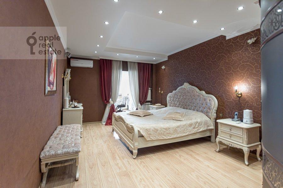 Bedroom of the 2-room apartment at Rossoshanskaya ul. 2k4