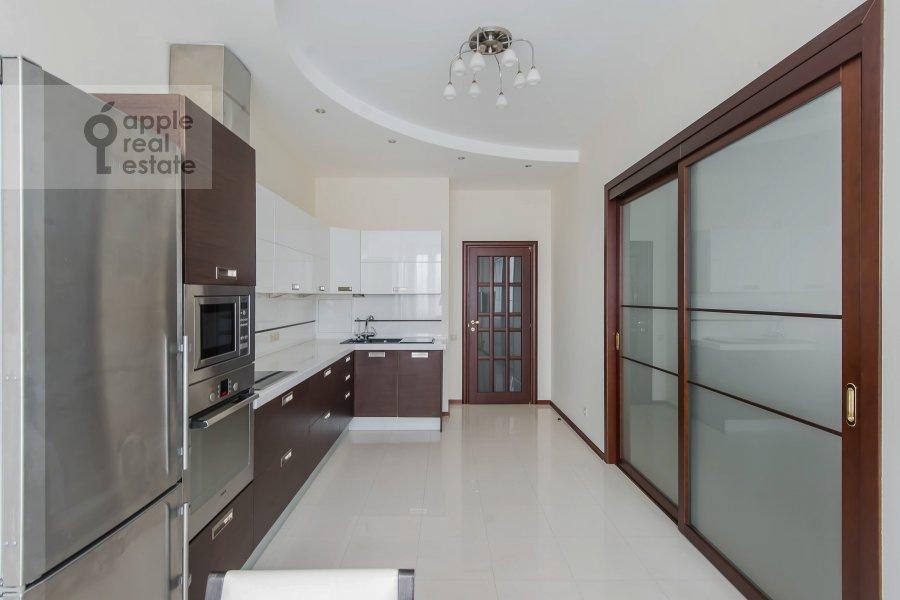 Kitchen of the 5-room apartment at Leninskiy prospekt 106k1