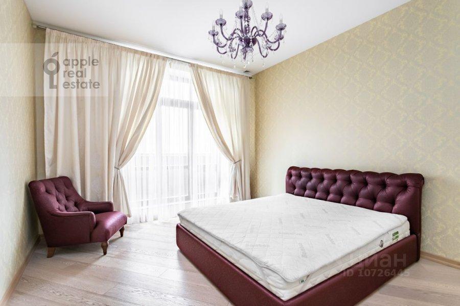 Спальня в 5-комнатной квартире по адресу Староволынская ул. 15к5