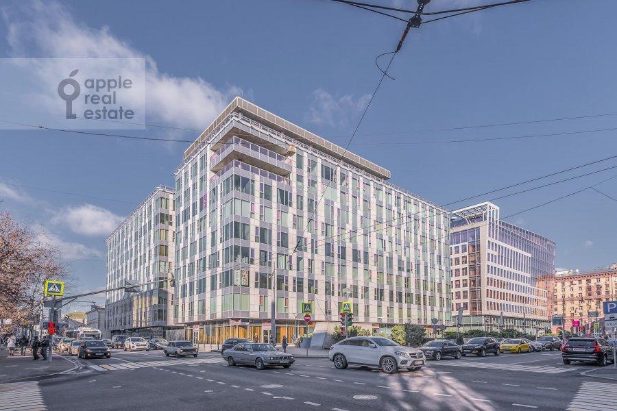 Photo of the house of the 4-room apartment at Bol'shaya Gruzinskaya ulitsa 69