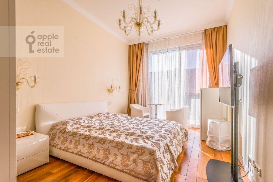 Bedroom of the 4-room apartment at Bol'shaya Gruzinskaya ulitsa 69