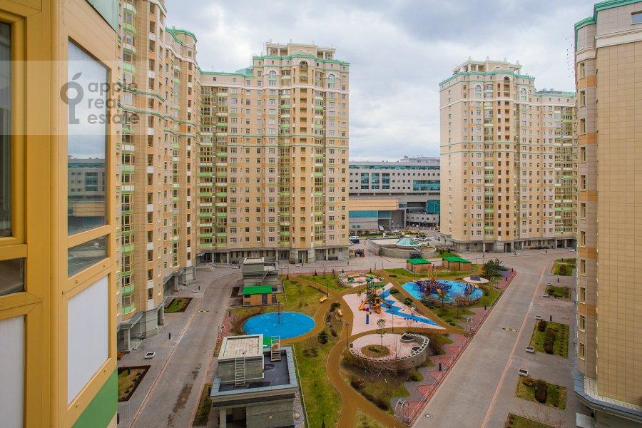 Вид из окна в 4-комнатной квартире по адресу Ломоносовский проспект 25к5
