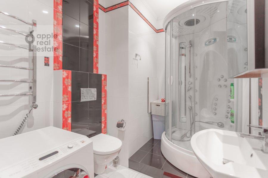 Санузел в 3-комнатной квартире по адресу проспект Вернадского 105к4