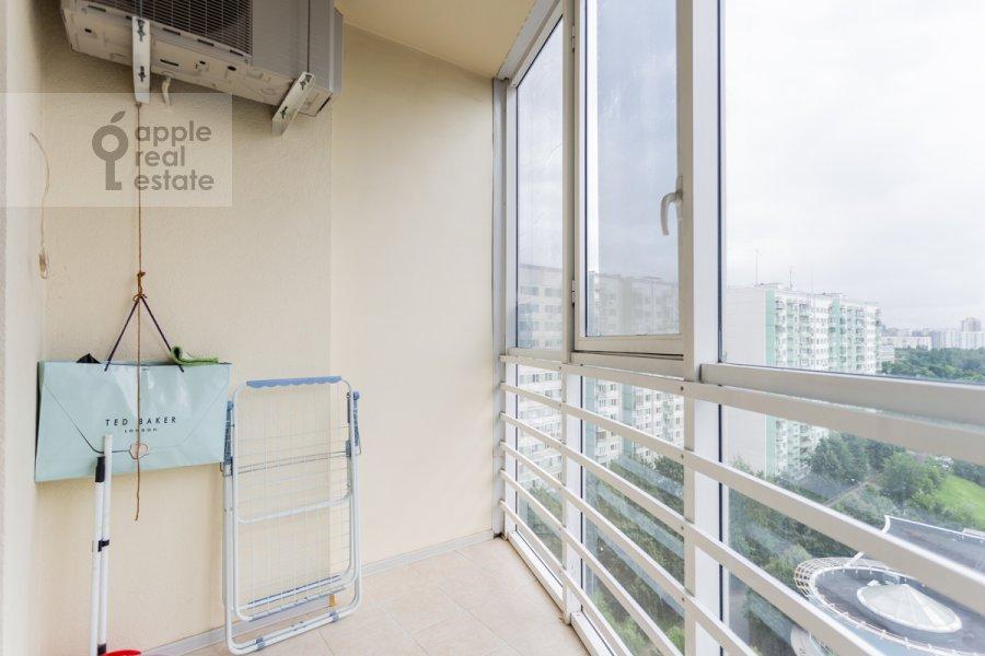 Балкон / Терраса / Лоджия в 3-комнатной квартире по адресу проспект Вернадского 105к4